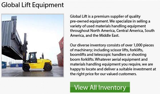 Caterpillar End Control Forklifts